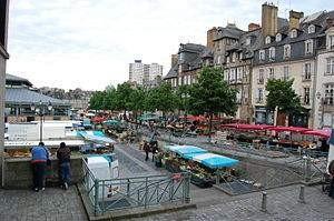Bientôt un hôtel haut de gamme Place des Lices à Rennes